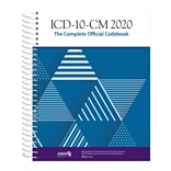 AMA ICD-10-CM 2020 The Complete Official Codebook with Guidelines, Spiralbound (OP201420)