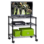 Honey Can Do Media Cart 3-shelf, black ( CRT-04050 )