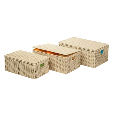 Honey Can Do parchment cord S/3 boxes, G45 - butter ( STO-03556 )