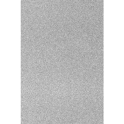 LUX 12 x 18 Paper 50/Pack, Silver Sparkle (1218-P-MS01-50)