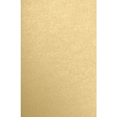 LUX 11 x 17 Paper 250/Pack, Blonde Metallic (1117-P-BLON-250)