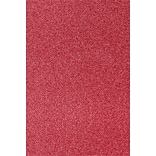 LUX 12 x 18 Paper 50/Pack, Holiday Red Sparkle (1218-P-MS08-50)