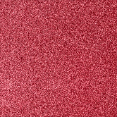 LUX 12 x 12 Paper 250/Pack, Holiday Red Sparkle (1212-P-MS08-250)