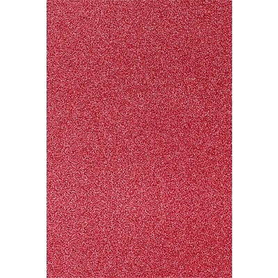 LUX 12 x 18 Cardstock 50/Pack, Holiday Red Sparkle  (1218-C-MS08-50)