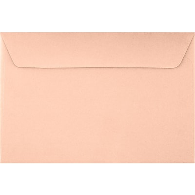 LUX 6 x 9 Booklet Envelopes 50/Pack, Blush (LUX-4820-39-50)