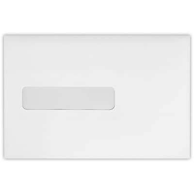 LUX 6 x 9 Booklet Window Envelopes 500/Pack, 24lb. Bright White (69W-W-500)
