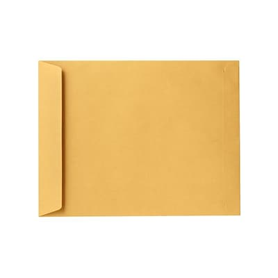 LUX 8 1/2 x 10 1/2 Open End Envelopes 1000/Pack, 28lb. Brown Kraft (4892-28BK-1000)