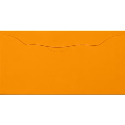 LUX Offering Envelopes (3 1/8 x 6 1/4) 1000/Pack, Electric Orange (WS-7611-1000)