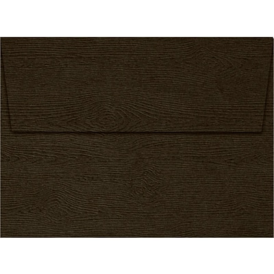 LUX A6 Invitation Envelopes (4 3/4 x 6 1/2) 1000/Pack, Teak Woodgrain (4030-S03-1000)