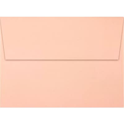 LUX A7 Invitation Envelopes (5 1/4 x 7 1/4) 50/Pack, Blush (LUX-4880-39-50)