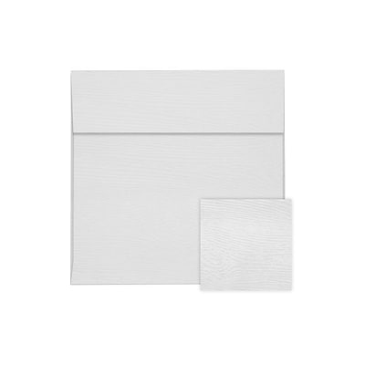 LUX 6 1/2 x 6 1/2 Square Envelopes 500/Pack, White Birch Woodgrain (8535-S02-500)