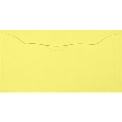LUX Offering Envelopes (3 1/8 x 6 1/4) 500/Pack, Pastel Canary (WS-7610-500)