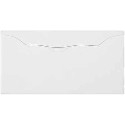 LUX Offering Envelopes (3 1/8 x 6 1/4) 50/Pack, White (WS-7605-50)