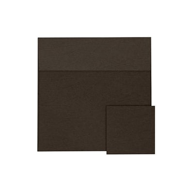 LUX 6 1/2 x 6 1/2 Square Envelopes 250/Pack, Teak Woodgrain (8535-S03-250)