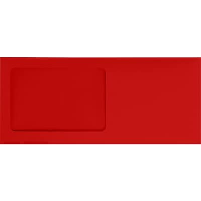 LUX #10 All Purpose Window EnvelopesEnvelopes(4 1/8 x 9 1/2) 1000/Pack, 80lb. Ruby Red (LUX-10APW181000)