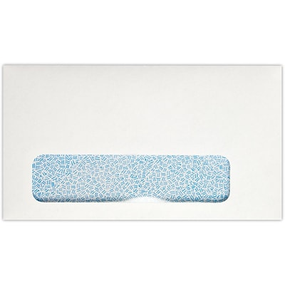 LUX #7 Window Envelopes (3 3/4 x 6 3/4) 500/Pack, 24lb. Bright White w/ Sec. Tint (7W-WST-500)