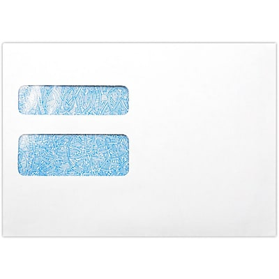LUX W-2 / 1099 Envelopes (5 3/4 x 8) 1000/Pack, White (7489-W2-1000)