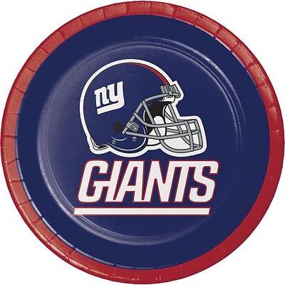 NFL New York Giants Dessert Plates 8 pk (419521)