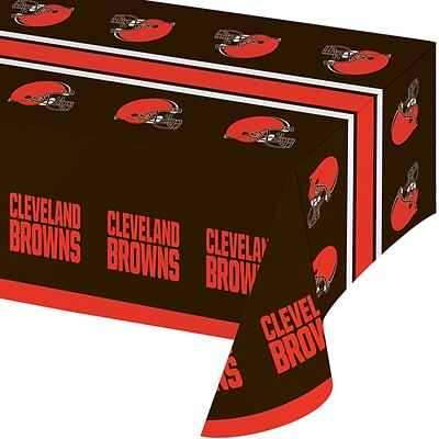 NFL Cleveland Browns Plastic Tablecloth (316652)