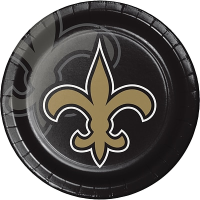 NFL New Orleans Saints Paper Plates 8 pk (429520)