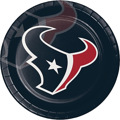 NFL Houston Texans Paper Plates 8 pk (429513)