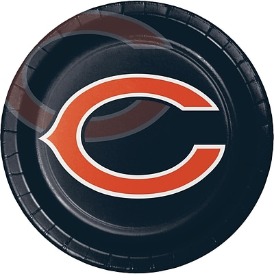 NFL Chicago Bears Paper Plates 8 pk (429506)