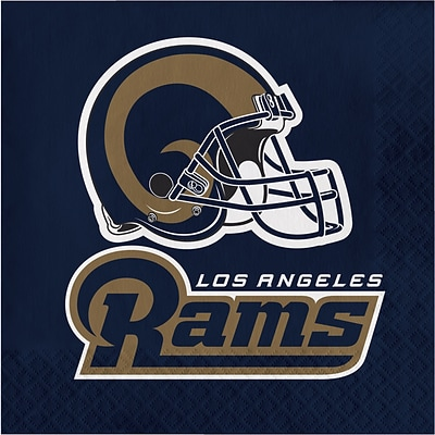 NFL Los Angeles Rams Napkins 16 pk (321461)
