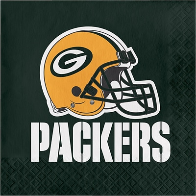 NFL Green Bay Packers Napkins 16 pk (669512)
