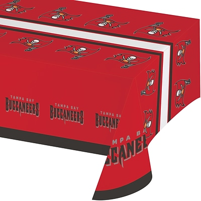 NFL Tampa Bay Buccaneers Plastic Tablecloth (729530)