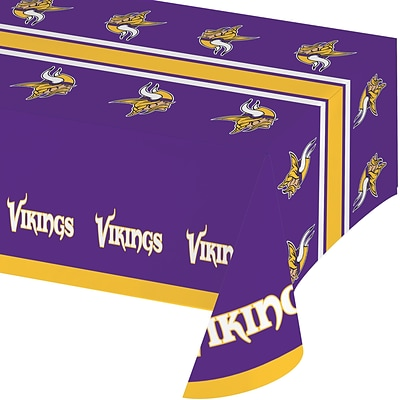 NFL Minnesota Vikings Plastic Tablecloth (729518)