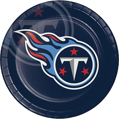 NFL Tennessee Titans Paper Plates 8 pk (429531)