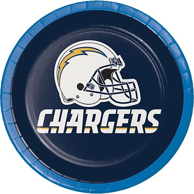 NFL San Diego Chargers Dessert Plates 8 pk (419526)