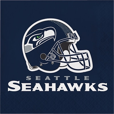 NFL Seattle Seahawks Napkins 16 pk (669528)