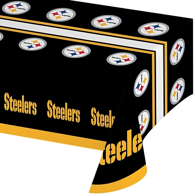 NFL Pittsburgh Steelers Plastic Tablecloth (729525)