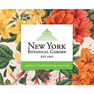2018 Willow Creek Press 4.25 x 5.25 New York Botanical Garden Box Calendar (47126)