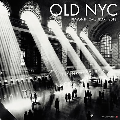 2018 Willow Creek Press 12 x 12 Old New York City Wall Calendar (47409)