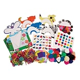 Roylco Art Exploration Kit for Toddlers, Assorted colors and Shapes, 800/set (R-21291)