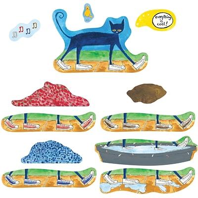 Pete The Cat I Love My White Shoes Flannelboard Set, 12/set (LFV22851)
