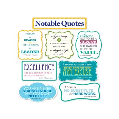 Notable Quotes BB Set, 6/set, 18 quote cards (SC810509)