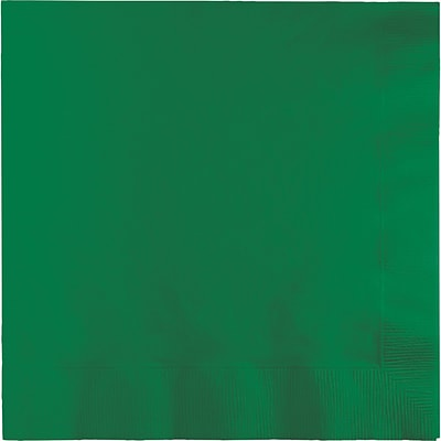 Touch of Color Emerald Green Napkins 3 ply 50 pk (58112B)