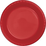 Touch of Color Classic Red Plastic Dessert Plates 50 pk (28103111B)