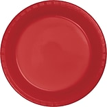 Touch of Color Classic Red Plastic Plates 50 pk (28103121B)