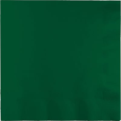 Touch of Color Hunter Green Dinner Napkins 3 ply 25 pk (593124B)