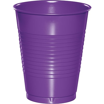 Touch of Color Amethyst Purple Plastic Cups 20 pk (318922)