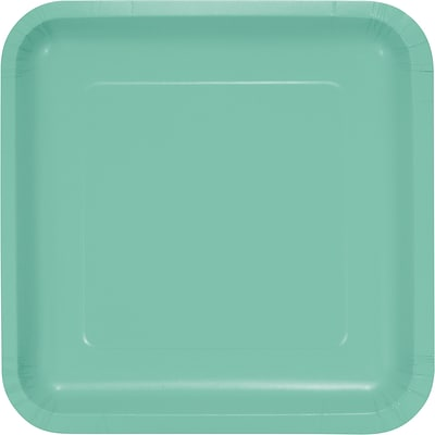 Touch of Color Fresh Mint Green Paper Plates 18 pk (318886)