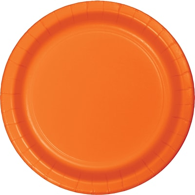 Celebrations Sunkissed Orange Dessert Plates 8 pk (533282)