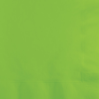 Touch of Color Fresh Lime Green Beverage Napkins 3 ply 50 pk (573123B)