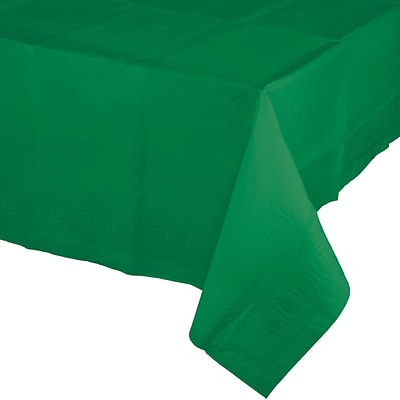 Touch of Color Emerald Green Paper Tablecloth (710201B)