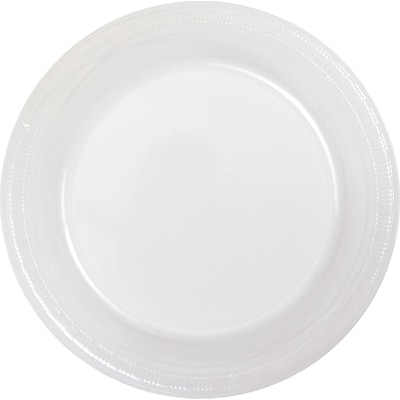 Touch of Color Clear Plastic Dessert Plates 50 pk (28114111B)