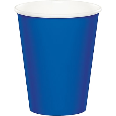 Celebrations Cobalt Blue Cups 8 pk (317377)